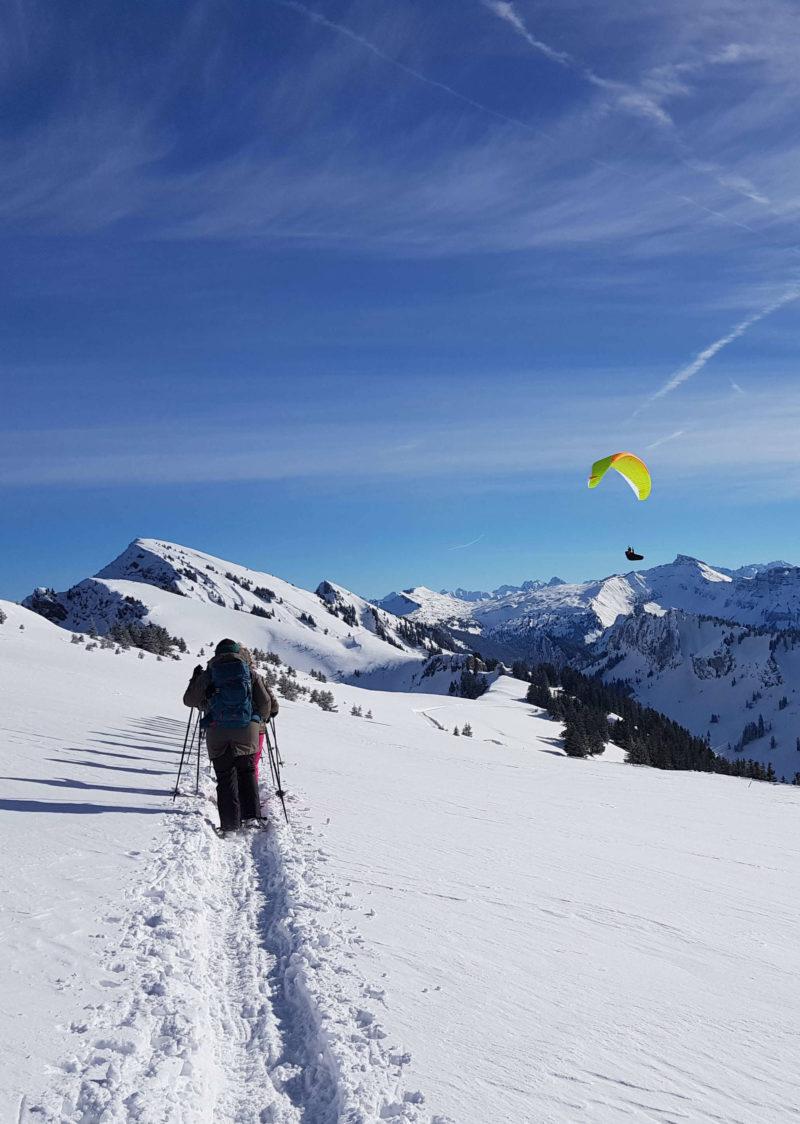 Schneeschuhwandern_Snowshoeing